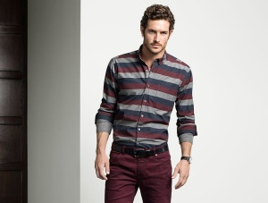 Justice Joslin for Simons Fall 2014 Lookbook