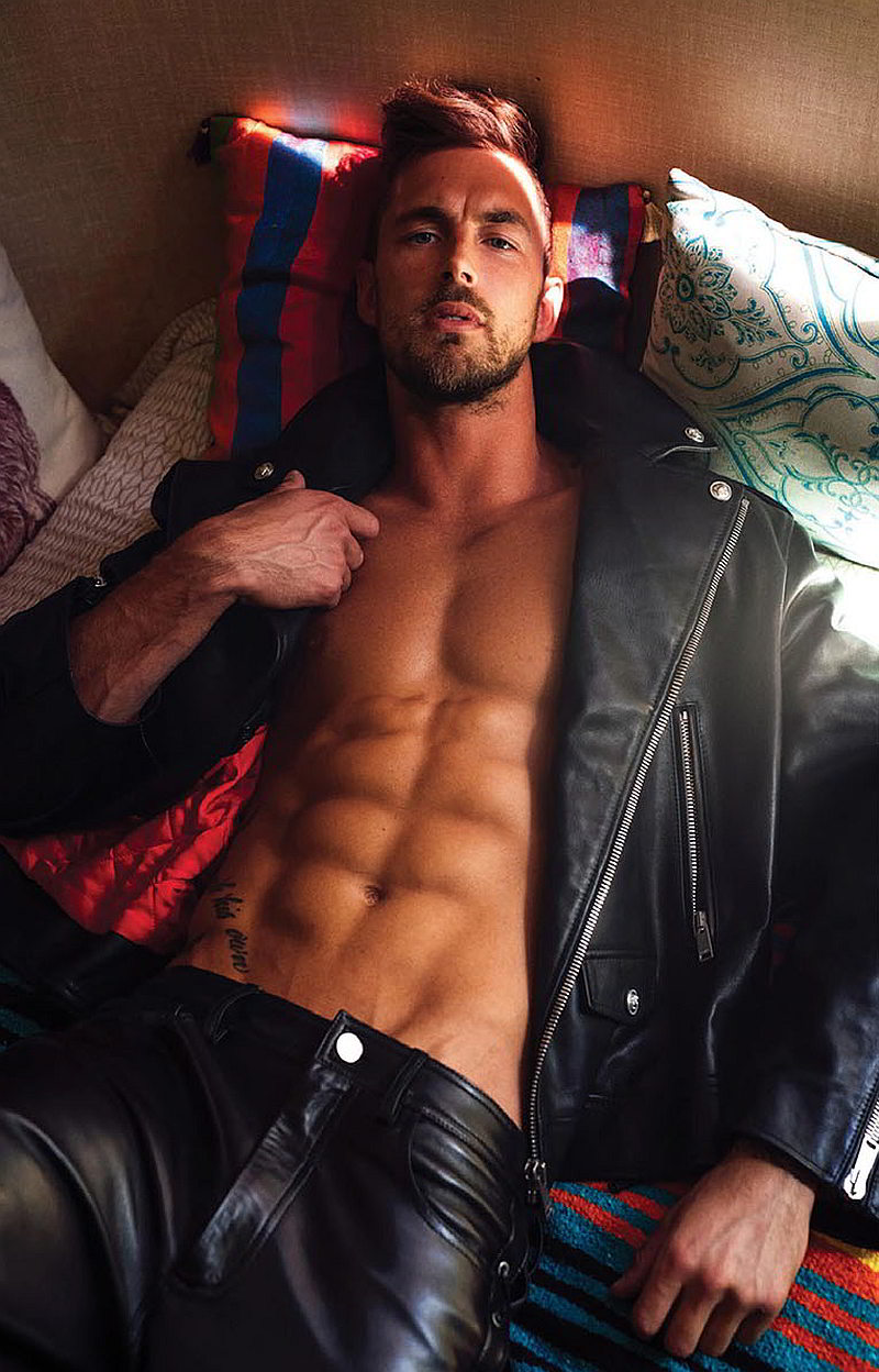 christian hogue attitude 007 Christian Hogue for Attitude Magazine