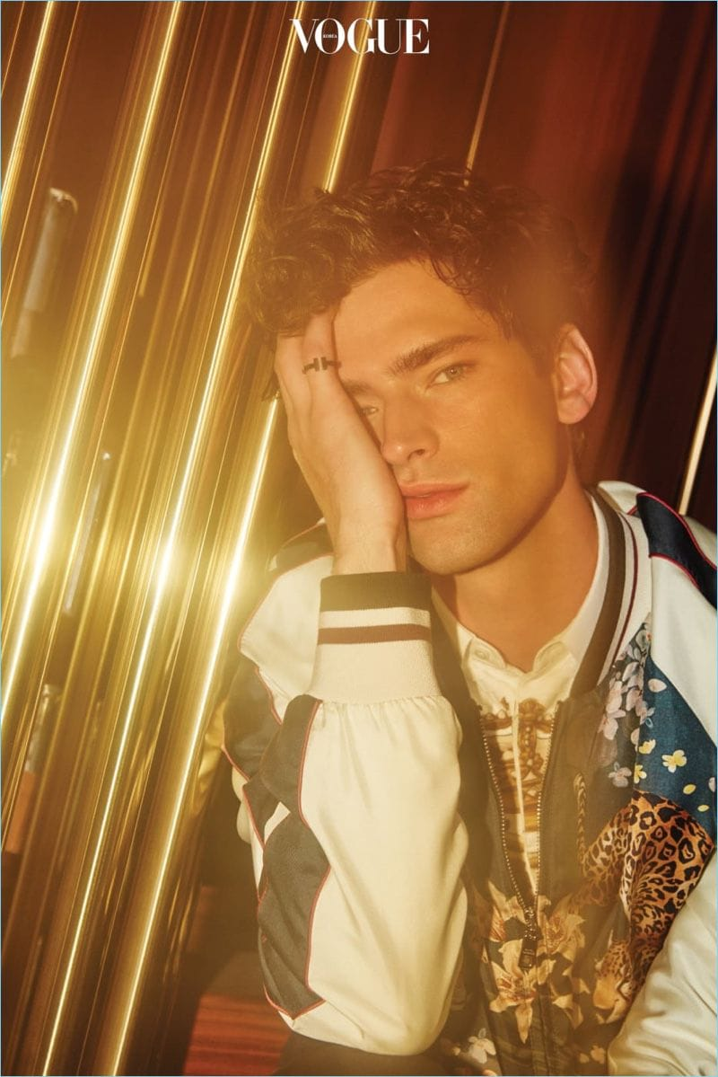 sean opry vogue korea 2018 editorial 003 Sean OPry for Vogue Korea February 2018