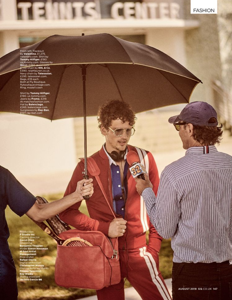 simon nessman giampaolo sgura gq uk 009 Simon Nessman for GQ Uk August 18
