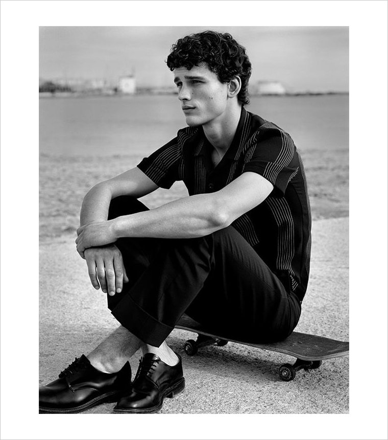 simon nessman sandro spring 2019 Simon Nessman for Sandro Paris Spring/Summer 2019