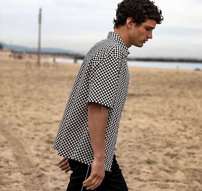 simon nessman sandro spring summer 2019 003 Simon Nessman for Sandro Paris Spring/Summer 2019
